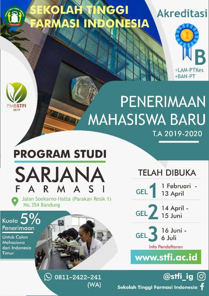 ALUR PENDAFTARAN MAHASISWA BARU STFI 2019